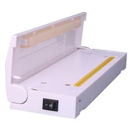 Bolsa de vácuo para embalagem on-line-1 pc Portátil Mini Vácuo Máquina de Vedação De Calor Impulse Sealer Seal Embalagem Saco De Plástico Kit Vacuum Resealer Transporte da gota