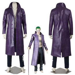 Joker mantel lila