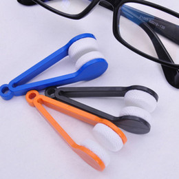 Essenziale mini occhiali da microfibra portatile occhiali da sole pulitore occhiali colorati in microfibra pulire pulire trasporto del DHL all'ingrosso 3006082 da salviette all'ingrosso di bicchieri fornitori