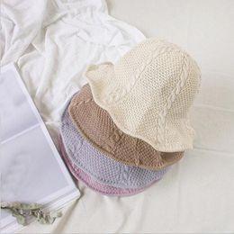2017 NEW Chapeau Femme Sunscreen Fashion Hat Short Brim Floppy Summer Beach  Sun Straw Hat Fisherman Caps Free Shipping 953425499d8c