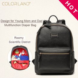 99de7b343dbd7 Diaper Bags Backpack Fashion Mummy Nappy Changing Maternity Bag Baby Care  Organizer For Mom Dad Mother & Kids Travel COLORLAND