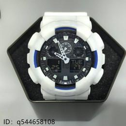 Wholesale high watches - AAA new digital watch ga100 tin box, automatic quartz watch all the functions, high grade quartz watch gshock waterproof watch. Wholesale