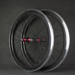 2020 rueda de carretera Barato 38mm 700C Ruedas Bicicleta de carretera 38mm Forma de U Ruedas de fibra de carbono llenas Rueda de carbono de Bicicleta de carretera Clincher rueda de carretera baratos