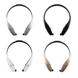 2019 logo teléfono celular Venta al por mayor HBS-900 Auriculares inalámbricos con Bluetooth Teléfono celular Auriculares con banda para el cuello Auriculares de música con bolso OPP Sin logotipo HBS1 logo teléfono celular baratos