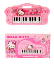 Wholesale Electronic Organ Keyboards - Pink Musical Instruments Toy for Kids Girl Cartoon Electronic Organ Toy Keyboard Mini Electronic Baby Piano for Kids