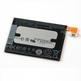 probando la batería del iphone Rebajas Baterías de repuesto para celulares para HTC One2 M8 W8 M8st E8 M8 M8x BOP6B100 2600mAh