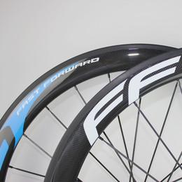 ruota ffwd 38mm Sconti FFWD F5R 50mm bici da strada in fibra di carbonio resistente al calore basalto frenante superficie Wheelset F5R carbonio basalto frenata ruota di biciclette da strada Clincher