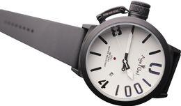 84c4c30576a 2019 relógio automático de mão Marca de luxo Novos Esportes Dos Homens 50mm  de Prata Preto