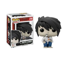Wholesale Mini Pops Kids - Toys Gifts Action Figures Movies Video Game Cartoon Death Note Hand-operated Lawliet Rollett Decoration Doll Model Pop Vinyl Mini Fig Art