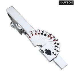 2019 ювелирный галстук Lovely Tie Clip Poker Shape 2.25