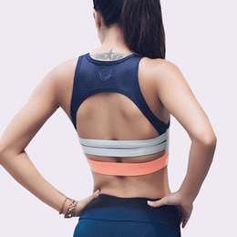 e2021d2c81 Sexy Sport Bra Tops Women Shockproof Fitness Running Bras Push Up High  Support Yoga Bra Padded Workout Bras