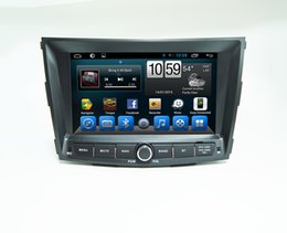 faster gps Australia - CAR Dvd With Monitor Two Din Size Car Multimedia for Ssangyong Tivoli Tivolan Built in Wifi and 3G, fast speed surfing