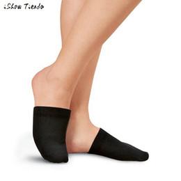 2019 tampas de dedo do pé de dança Meias Meias de Dança do Meia-calça Meia-calça Meia-palm Meias Slings Meias De Compressão Chaussettes Femmes # 1026 tampas de dedo do pé de dança barato