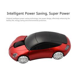 Souris pc cool en Ligne-Gros-1000DPI Mini 2.4G voiture sans fil souris optique pour PC portable + récepteur USB Cool Fashion souris
