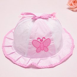 e6b6854fdde Panama Summer Girls Hat For Girls Beautiful Infant Toddler Sun Caps Baby  Girls Clothing 2018