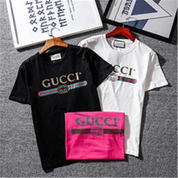 Wholesale Designer Casual Shirts Women - Designer Luxury Europe Italy Vintage Coco Capatain Tshirt Fashion Men Women T Shirt Casual Cotton Tee Top