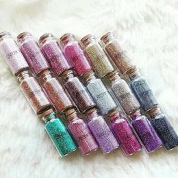 Wholesale Using Eye Shadow - Waterproof Long-lasting Beauty Creations Glitter Eye Shadow- Safe to use on Eyes & Lips Glitter Powder DHL Free Cosmetics
