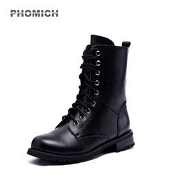 Canada 2018 Moto Chaussures Motocross Bottes Racing Nouveau Femmes Motocross Chaussures Véritable En Cuir Moto Martin Bottes Racing Moto Botte cheap motorcycle boots womens Offre