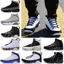 botas de beisbol Rebajas 2018 NUEVO NUEVO 9 MENS zapatos de baloncesto PINNACLE PACK de BÉISBOL GLOVE NEGRO Brown 9s Descuento Hombres Baloncesto Sneaker Boots de Alta Calidad 40-47
