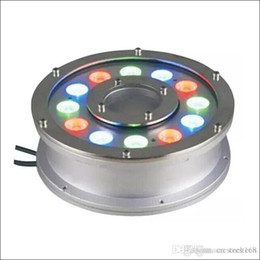 il serbatoio dei pesci scalda Sconti RGB landscape Luci subacquee 6W 9W 12W 15W 18W Illuminazione esterna a LED Luci IP68 Illuminazione a LED Ac12V AC24V