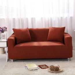 Wohnzimmerpakete online-Elastische Kraft Universal Sofa Abdeckung Full Package Stretch Möbel Währung Enge Tasche Rutschfeste Dekoration Wohnzimmer Liefert 60tz4 ff