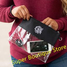 Nouvelle arrivée 5 couleurs mélangées bonne qualité Stade PVC Zip Pouch avec sangle amovible clair Crossbody Messenger sac à bandoulière ? partir de fabricateur