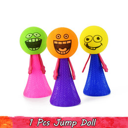 expressions games Coupons - 1 PCS Random Color Funny Expression Faces Fly Toys Strange Jumping Bounce Soft Dolls Educational Learning Gifts for Babies Kids Party Game