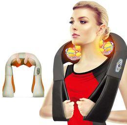 Scialli massaggi online-Scialle di massaggio Corpo completo Massaggio impastante strumento massaggio cape strumento di alta qualità PU Facilità massaggiatore sub-salute