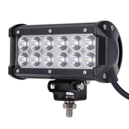 Wholesale Cree Off Road Lights - 12-LED 36W CREE LED Work Light Bar SUV ATV 4WD JEEP Spot Flood Beam Off Road Driving Fog Lamp roof lighting lights