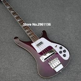 Chitarre viola online-Custom RIC 4 Corde Viola Viola 4003 Basso Elettrico Chorme Hardware Triangolo MOP Tastiera Inlay Awesome China Guitars