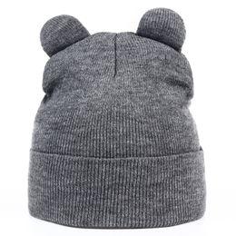 17f027ea463 VORON new Women Autumn And Winter Devil Horns Cat Ear Cute Crochet Braided  Knit Beanie Ski Wool Warm Cap Hat