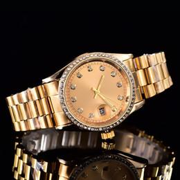 Wholesale Nurse Wristwatches - New Ultra thin rose gold woman diamond flower watches 2017 brand luxury nurse ladies dresses female Folding buckle wristwatch without box
