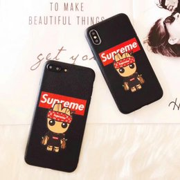 Wholesale Thin Shell - Case for iPhoneX 8 8plus Luxury English alphabet cartoon silicone thin phone case for iPhone7 6 6S 7plus TPU soft cover shell