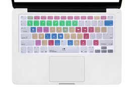 """Wholesale a1369 keyboard - For A1278 Studio One Shortcut Hotkeys Keyboard Skin Cover For Macbook Pro Air Retina 13"""" A1369 A1466 A1425 A1502 Pro Retina 15"""""""