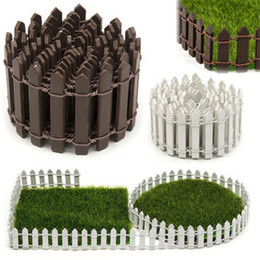 Wholesale wholesale fence - Succulents Moss Micro Landscape Decoration Fence Small Wood Fence Meaty Moss Fence Garden Supplies DDA521