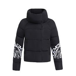 Chaqueta de han online-B1522 2017 otoño invierno nueva edición de han impreso para mujer chaqueta acolchada breve párrafo pan servido con abrigo grueso
