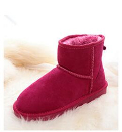 botas de invierno mujer corta Rebajas 2018 High Quality WGG Women's Classic Mini botas cortas Tall Boots Womens Boot Snow boots Winter Leather boot US SIZE 5 --- 13