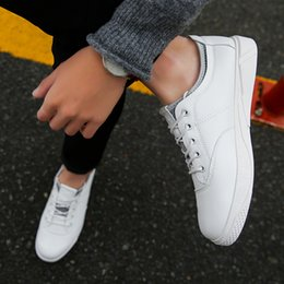 Wholesale Narrow Fabrics - JeffSneaker Lace Up Casual Shoes Cheap and comfortable quality shoes White