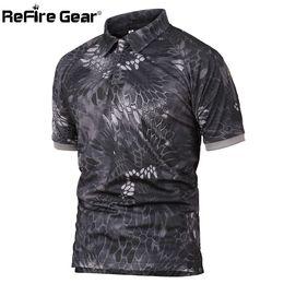 Chemises de l'armée en Ligne-Polaire tactique militaire respirant de repenteur hommes été nous armée camouflage homme respirant séchage rapide bras polos de poche