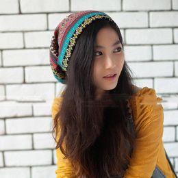 Wholesale earflap beanie women - New Autumn High Quality Warm Knitted Hats Crochet Beanie Autumn Women Woolen Hat Earflap Caps Scarf Hat HO661711
