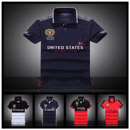 Wholesale Polka Dot Shirts For Men - New Luxury Brand Embroidery T Shirts For Men Italy Fashion Poloshirt Shirt Men High Street Snake Little Bee Tiger Print Mens Polo Shirt