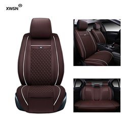 Wholesale Renault Leather - XWSN Special leather car seat cover for Renault all models kadjar fluence Captur Laguna Megane Latitude car accessories