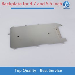 Wholesale part plates - LCD Digitizer Metal Back Plate Shield Bezel For iPhone 6 6s 6s Plus 7 Plus 8 8 Plus LCD Display Replacement Parts