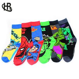 Wholesale marvel dresses - H&R Mens Cotton Socks MARVEL COMICS Casual Dress Knee Socks Us Size 9-12 EU 39-45