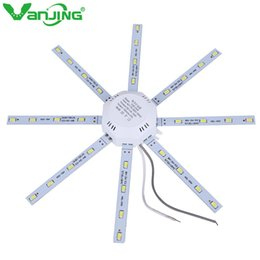 Wholesale ceiling plates - Led Downlight Octopus Plate Ring Lights Lamp 5730 SMD 12W 16W 20W 24W for Ceiling Lamp Absorb Dome Replace LED Light Board 220V