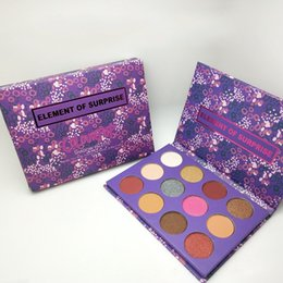 Wholesale Christmas Eyeshadow - New Colourpop 12 Colors element of surprise eye shadow makeup palette Brand 12colors eyeshadow palette eye shadow cosmetics Christmas gift