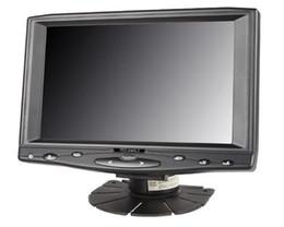 7 pouces 1024x600 Haute Qualité HL-619 IPS LCD Moniteur à Écran Tactile avec entrée HDMI VGA AV, AV Reverse Camera Premier ? partir de fabricateur