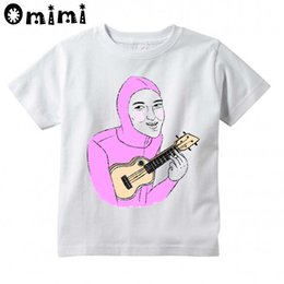 Wholesale Red Shirt Guy - Boys and Girls Filthy Frank Pink Guy Printed T Shirt Kids Great Casual Short Sleeve Tops Children's Funny T-Shirt