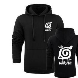 Wholesale Naruto Hokage - Naruto Hoodie Sweatshirt Hokage Ninjia Japanese Anime Funny Cartoon Mens Hoodies And Sweatshirts 4XL Plus Pullover