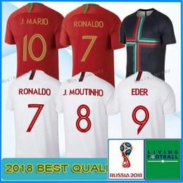 CR7 Cristiano soccer jersey 2018 World Cup Soccer Jersey QUARESMA NANI  Football Shirt 18 19 Camiseta ANDRE SILVA Jersey e5506b5a2